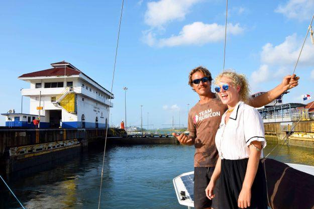 Transit Panama Canal 2018 Capt & Kim