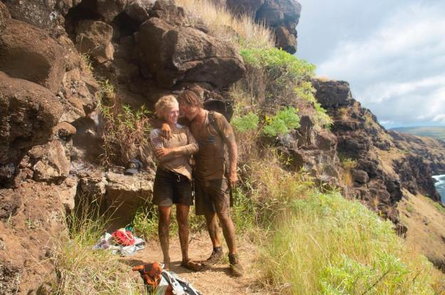Dirty hiking on Rapa Nui
